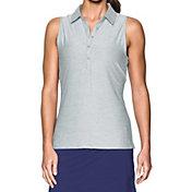 Under Armour Women's Zinger Sleeveless Golf Polo