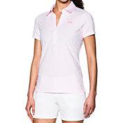 Under Armour Women's Zinger Stripe Golf Polo