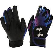 Under Armour Girls' Radar III Fastpitch Batting Gloves
