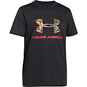 Under Armour Youth Camo Fill Logo T-Shirt