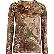 Under Armour Youth Scent Control Evo HeatGear Long Sleeve Shirt