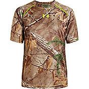 Under Armour Youth Scent Control EVO HeatGear T-Shirt