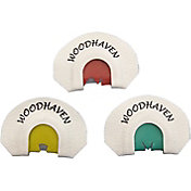 WoodHaven Custom Calls Small Frame Mouth Turkey Call 3-Pack