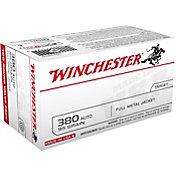 Winchester FMJ Handgun Ammo – 100 Rounds