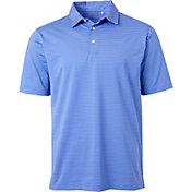 Walter Hagen Men's Hagen Stripe Golf Polo