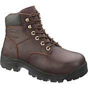 """Wolverine Men's Buccaneer MultiShox Contour Welt 6"""" Waterproof Steel Toe Work Boots"""