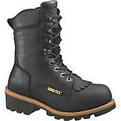 """Wolverine Men's Buckeye 8"""" GORE-TEX Wide Safety Toe Work Boots"""