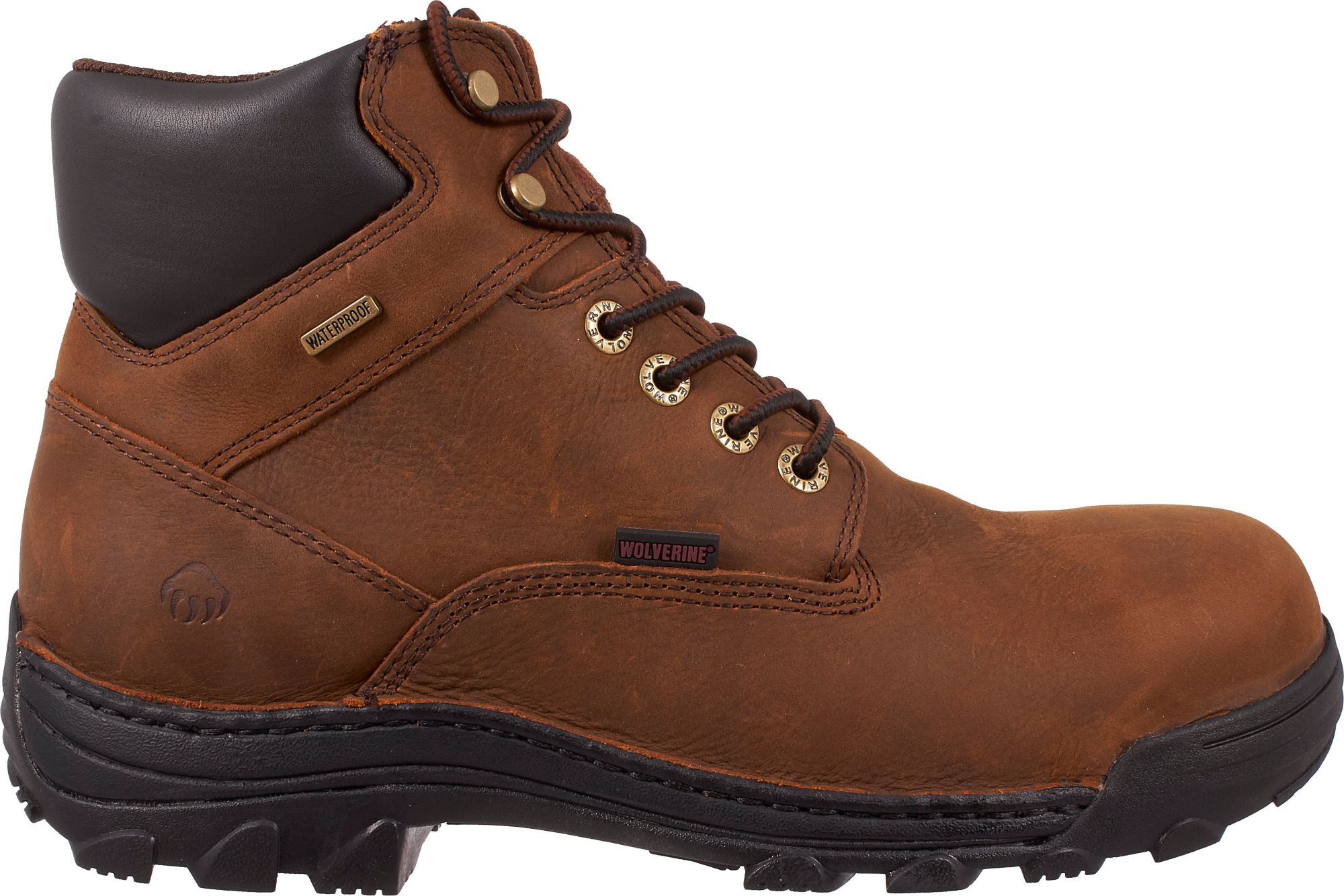 Wolverine Men's Durbin 6'' Waterproof Steel Toe Work Boots| DICK'S ...