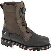 """Wolverine Men's Drillbit 8"""" Waterproof Wide Steel Toe Work Boots"""