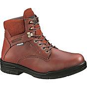 """Wolverine Men's DuraShocks SR 6"""" Steel Toe Work Boots"""
