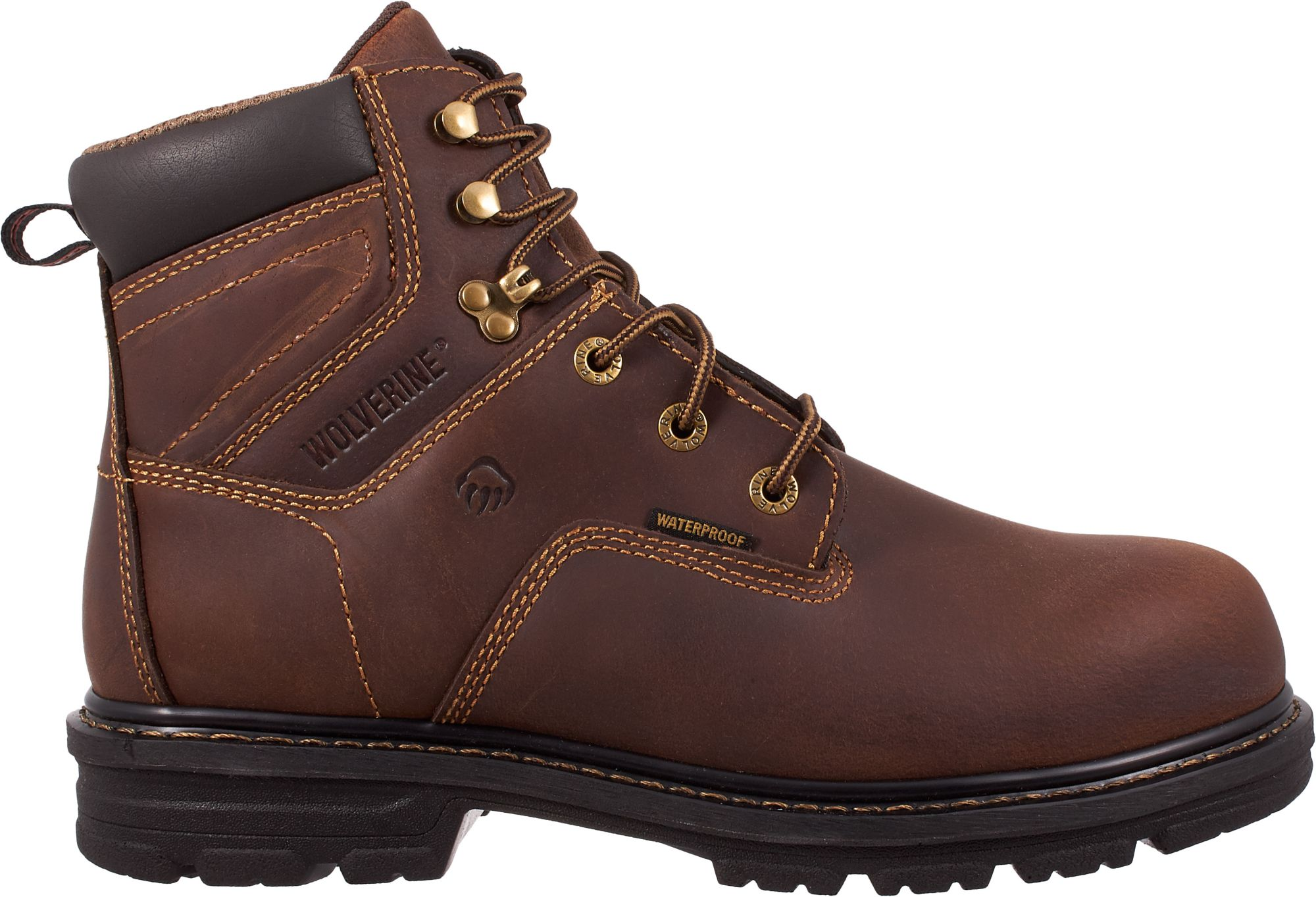 Wolverine Men's Nolan 6'' Waterproof Composite Toe Work Boots ...