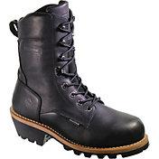 "Wolverine Men's Nantucket 8"" Waterproof 400g Steel Toe Work Boots"