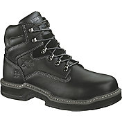 product image wolverine menu0027s raider 6u201d steel toe work boots black