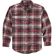 Wolverine Men's Redwood Heavyweight Flannel Long Sleeve Shirt