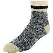 Yaktrax Men's Outdoor Cabin Crew Socks