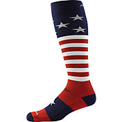 Darn Tough Men's Captain Stripe Cushion Over-the-Calf Socks