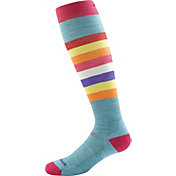 Darn Tough Girls' Shortcake Jr. Light Cushion Over-the-Calf Socks