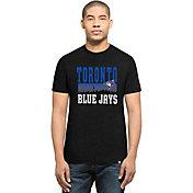 '47 Men's Toronto Blue Jays Black Club T-Shirt