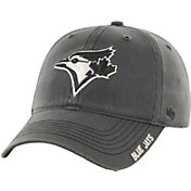 '47 Men's Toronto Blue Jays Nightfall Closer Grey Fitted Hat