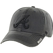 '47 Men's Atlanta Braves Nightfall Closer Grey Fitted Hat
