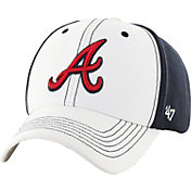 '47 Men's Atlanta Braves Cooler MVP White/Navy Adjustable Hat