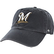'47 Men's Milwaukee Brewers Clean Up Navy Adjustable Hat