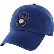 '47 Men's Milwaukee Brewers Clean Up Royal Adjustable Hat