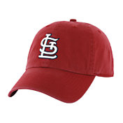 '47 Men's St. Louis Cardinals Red Clean Up Adjustable Hat
