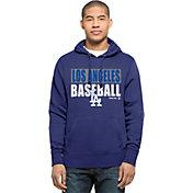 '47 Men's Los Angeles Dodgers Royal Headline Pullover Hoodie
