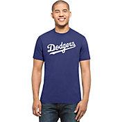 '47 Men's Los Angeles Dodgers MVP Splitter Royal T-Shirt