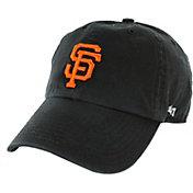 '47 Men's San Francisco Giants Black Clean Up Adjustable Hat