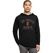 '47 Men's San Francisco Giants Black Downfield Long Sleeve Shirt