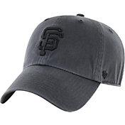 '47 Men's San Francisco Giants Charcoal Clean Up Adjustable Hat
