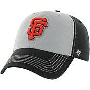 '47 Men's San Francisco Giants McGraw Clean Up Black Adjustable Hat
