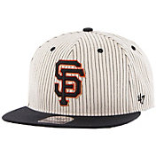 '47 Men's San Francisco Giants Woodside Captain Pinstripe Adjustable Hat