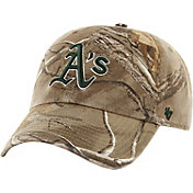 '47 Men's Oakland Athletics Realtree Camo Clean Up Adjustable Hat