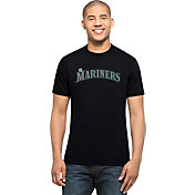 '47 Men's Seattle Mariners MVP Splitter Navy T-Shirt