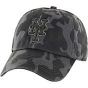'47 Men's New York Mets Flintlock Franchise Camo Fitted Hat