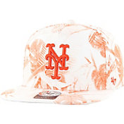 '47 Men's New York Mets Ohana Captain Orange Adjustable Hat