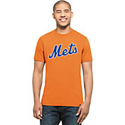 '47 Men's New York Mets MVP Splitter Orange T-Shirt