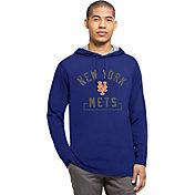 '47 Men's New York Mets Royal Downfield Long Sleeve Shirt