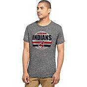 '47 Men's Cleveland Indians Tri-State Grey Tri-Blend T-Shirt