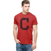 '47 Men's Cleveland Indians Crosstown Flanker Red T-Shirt