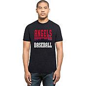 '47 Men's Los Angeles Angels Navy Club T-Shirt