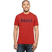 '47 Men's Los Angeles Angels MVP Splitter Red T-Shirt