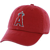 '47 Men's Los Angeles Angels Red Clean Up Adjustable Hat