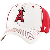 '47 Men's Los Angeles Angels Cooler MVP White/Red Adjustable Hat