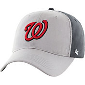 '47 Men's Washington Nationals Closer Grey Fitted Hat