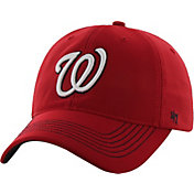 '47 Men's Washington Nationals Game Time Closer Red Fitted Hat