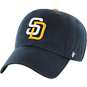 '47 Men's San Diego Padres Navy Clean Up Adjustable Hat